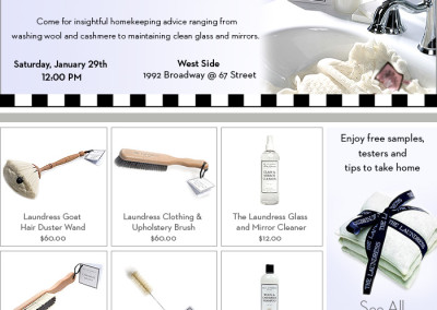 The Laundress Event