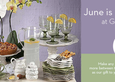 Juliska Month at Gracious Home