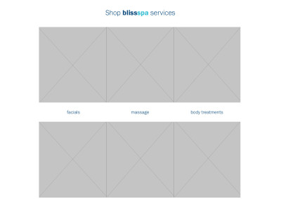 Wireframe spa page