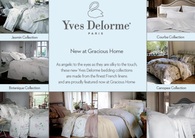 Yves Delorme Bedding